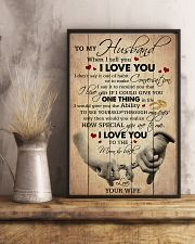 Husband I Love You To The Moon And Back 11x17 Poster lifestyle-poster-3