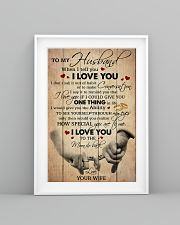 Husband I Love You To The Moon And Back 11x17 Poster lifestyle-poster-5
