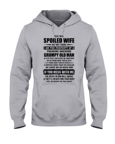 Spoiled Wife Of A Freaking Awesome Grumpy Old Man