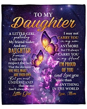 """Butterfly-Im Proud Of You Mom-To-Daughter Fleece Blanket - 50"""" x 60"""" thumbnail"""