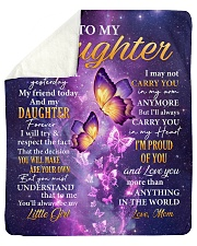 """Butterfly-Im Proud Of You Mom-To-Daughter Sherpa Fleece Blanket - 50"""" x 60"""" thumbnail"""