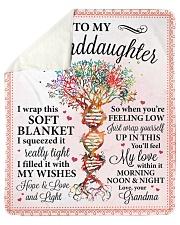 My Love Within Morning-Night Granma-Granddaughter Sherpa Fleece Blanket tile