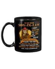 To My Dear Son-In-Law From Father-in-law Mug back