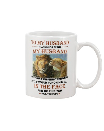 To My Husband Thanks For Being My Husband