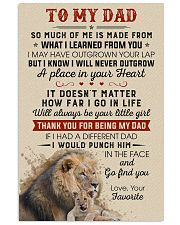Thanks For Being My Dad Will Always Be Your Girl 11x17 Poster front