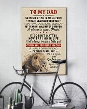 Thanks For Being My Dad Will Always Be Your Girl 11x17 Poster lifestyle-poster-7