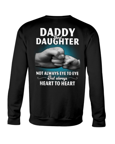 Daddy and Daughter Always Heart To Heart