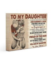 I Closed My Eyes For But A Moment Dad To Daughter 14x11 Gallery Wrapped Canvas Prints front