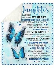 "Inside Blanket Is Piece Of My Hear-Mom To Daughter Sherpa Fleece Blanket - 50"" x 60"" thumbnail"