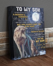 I Closed My Eyes For But A Moment Wolf Mom To Son 11x14 Gallery Wrapped Canvas Prints aos-canvas-pgw-11x14-lifestyle-front-10