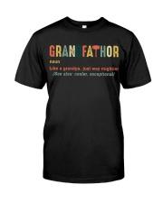 Grandfathor Classic T-Shirt front