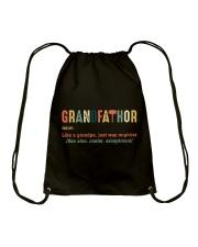 Grandfathor Drawstring Bag thumbnail