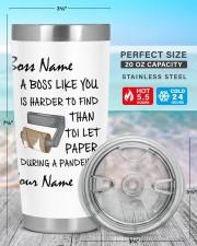 Personalized Name Boss Like U Harder To Find 20oz Tumbler aos-20oz-tumbler-lifestyle-front-47