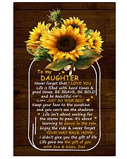 Never Forget That I Love U Dad To Daughter Vertical Poster tile