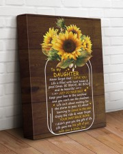 Never Forget That I Love U Dad To Daughter 11x14 Gallery Wrapped Canvas Prints aos-canvas-pgw-11x14-lifestyle-front-14