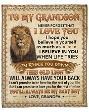 """Never Forget That I Love You-Young Lion GP to GS Fleece Blanket - 50"""" x 60"""" front"""