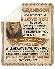 """Never Forget That I Love You-Young Lion GP to GS Sherpa Fleece Blanket - 50"""" x 60"""" thumbnail"""