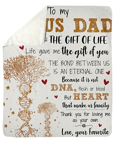 To My Bonus Dad Life Gave Me The Gift Of You