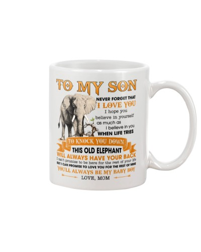 Son This Old Elephant Will Always Have Your Back