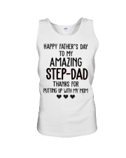 Happy Father's Day to my Amazing Stepdad Unisex Tank thumbnail