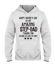 Happy Father's Day to my Amazing Stepdad Hooded Sweatshirt thumbnail