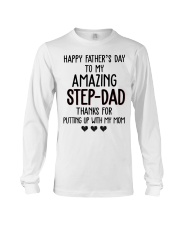 Happy Father's Day to my Amazing Stepdad Long Sleeve Tee thumbnail