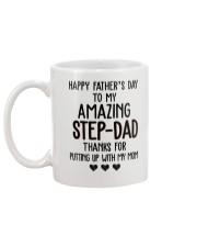 Happy Father's Day to my Amazing Stepdad Mug back