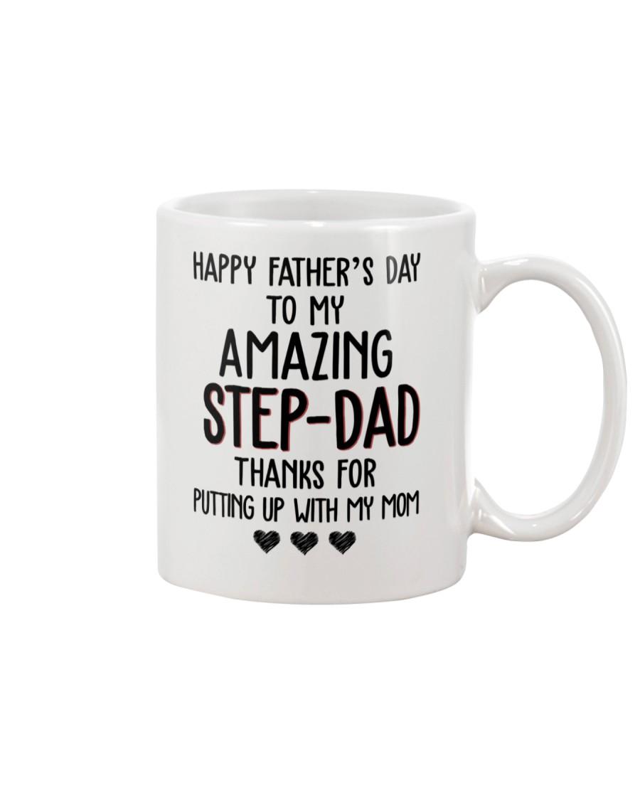 Happy Father's Day to my Amazing Stepdad Mug
