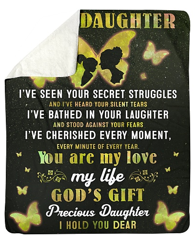 To My Daughter You Are My Love My Life God's Gift