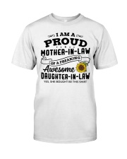 I Am A Proud MIL Of A Freaking Awesome DIL Classic T-Shirt thumbnail