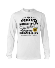 I Am A Proud MIL Of A Freaking Awesome DIL Long Sleeve Tee thumbnail
