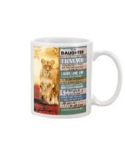 Lion- Never Forget That I Love U Mom-To-Daughter Mug tile