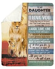 Lion- Never Forget That I Love U Mom-To-Daughter Sherpa Fleece Blanket tile