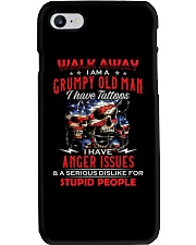 I Am A Grumpy Old Man Have Tattoos Phone Case thumbnail