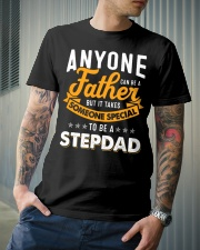 Father someone special to be a stepdad Classic T-Shirt lifestyle-mens-crewneck-front-6