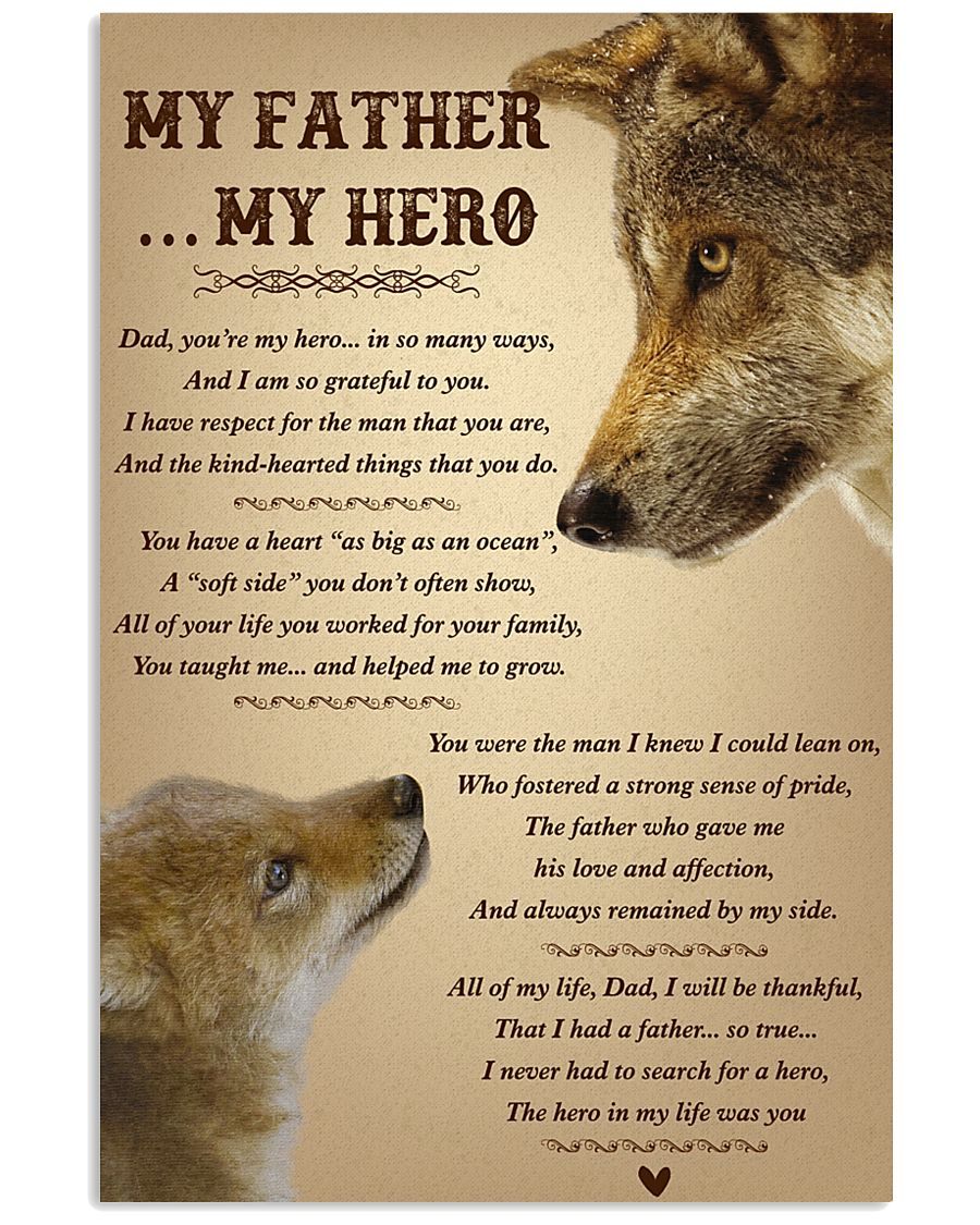 My Father My Hero 11x17 Poster