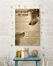 My Father My Hero 11x17 Poster lifestyle-holiday-poster-3