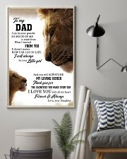 To My Dad I Love you With All My Heart 11x17 Poster lifestyle-poster-1