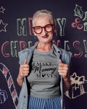 I Make Mommy Ladies T-Shirt lifestyle-holiday-crewneck-front-3