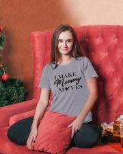 I Make Mommy Ladies T-Shirt lifestyle-holiday-womenscrewneck-front-2