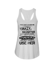 I Have A Crazy Daughter Ladies Flowy Tank thumbnail
