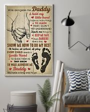 Walk alongside me Daddy and hold my little hand 11x17 Poster lifestyle-poster-1