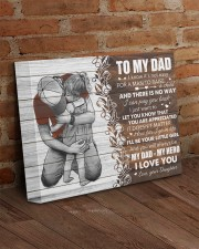 I Know It's Not Easy For A Man Daughter To Dad 14x11 Gallery Wrapped Canvas Prints aos-canvas-pgw-14x11-lifestyle-front-09