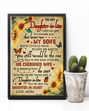 Daughter-In-Law Sunflower U Still Would Be The One 11x17 Poster lifestyle-poster-8