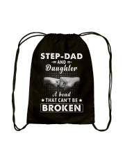 Step Dad And Daughter A Bond That Can't Be Broken Drawstring Bag thumbnail