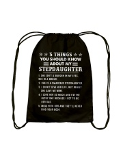 5 Things You Should Know About My StepDaughter Drawstring Bag thumbnail
