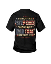 I'm Just The Dad That Stepped Up Youth T-Shirt thumbnail