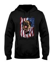 American Flag Bullmastiff Hooded Sweatshirt thumbnail