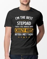 I'm The Best Stepdad Classic T-Shirt lifestyle-mens-crewneck-front-13