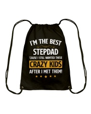 I'm The Best Stepdad Drawstring Bag thumbnail